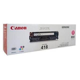 Canon CART418 Magenta Toner Cartridge (3400 Pages)
