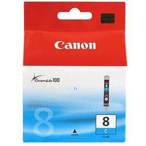 Canon CLI8 Cyan Ink Cartridge (420 Pages)