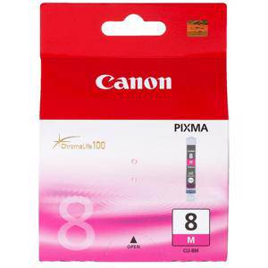 Canon CLI8 Magenta Ink Cartridge (420 Pages)