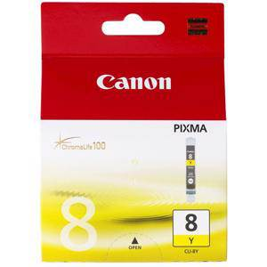 Canon CLI8 Yellow Ink Cartridge (420 Pages)