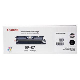 Canon EP87 Black Toner Cartridge (5000 Pages)