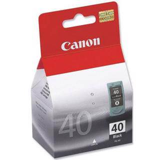 Canon PG40 Black Ink Cartridge (329 Pages)