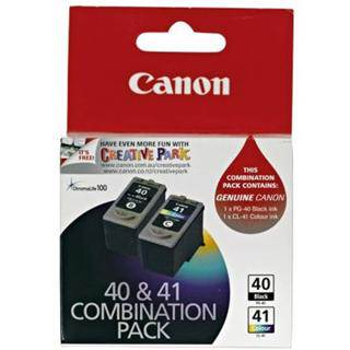 Canon PG40 + CL41 Value Pack Ink Cartridges