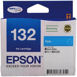 Epson 132 Cyan Ink Cartridge (215 Pages)