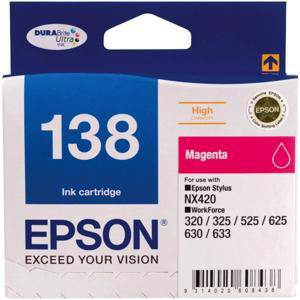 Epson 138 Magenta Ink Cartridge (545 Pages)