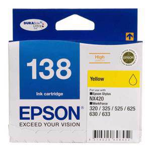 Epson 138 Yellow Ink Cartridge (545 Pages)