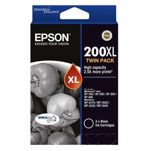 Epson 200XL Black Twin Pack (2 Pack)