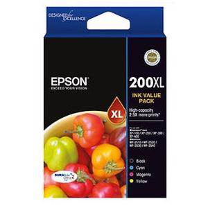 Epson 200XL Value Pack (4 Pack)