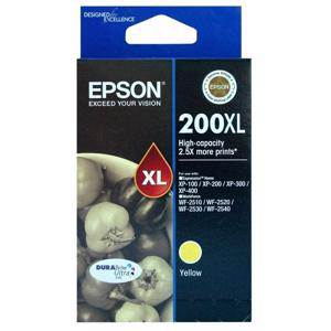 Epson 200XL Yellow Ink Cartridge (450 Pages)