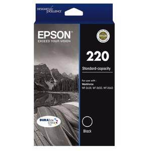 Epson 220 Black Ink Cartridge (175 Pages)
