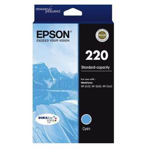 Epson 220 Cyan Ink Cartridge (165 Pages)
