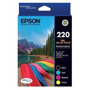 Epson 220 Value Pack (4 Pack)