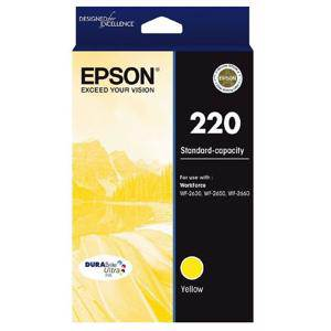 Epson 220 Yellow Ink Cartridge (165 Pages)