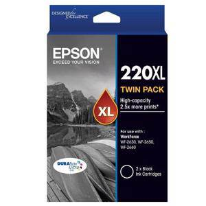 Epson 220XL Black Twin pack (2 Pack)