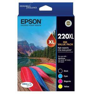 Epson 220XL Value Pack (4 Pack)