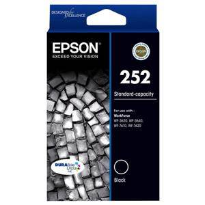 Epson 252 Black Ink Cartridge (300 Pages)