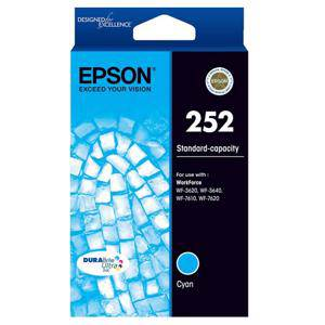 Epson 252 Cyan Ink Cartridge (300 Pages)