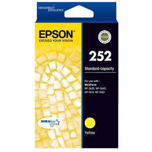 Epson 252 Yellow Ink Cartridge (300 Pages)