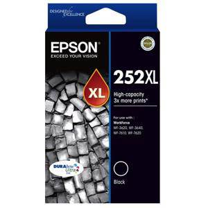 Epson 252XL Black Ink Cartridge (1000 Pages)