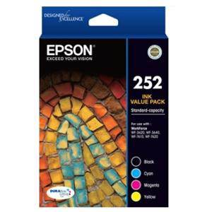 Epson 252XL Value Pack (4 Pack)