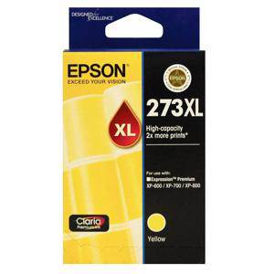 Epson 273XL Yellow Ink Cartridge (650 Pages)