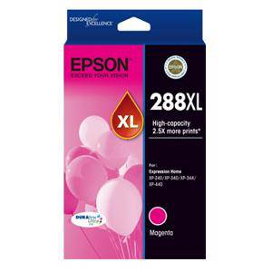 Epson 288XL Magenta Ink Cartridge (450 Pages)