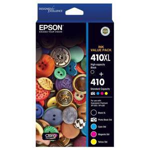 Epson 410XL/410 Value Pack Ink Cartridge (5 Pack)