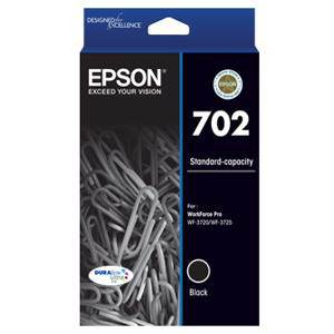 Epson 702 Black Ink Cartridge (300 Pages)