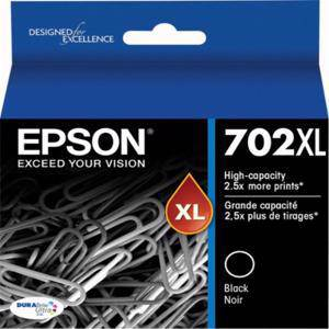 Epson 702XL Black Ink Cartridge (1100 Pages)