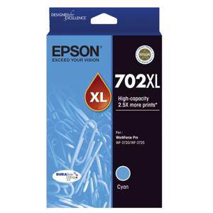 Epson 702XL Cyan Ink Cartridge (950 Pages)