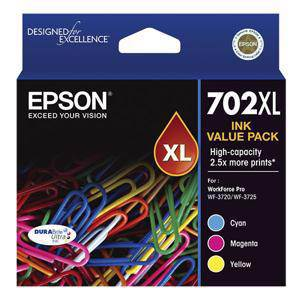 Epson 702XL Value Pack (3 Pack)