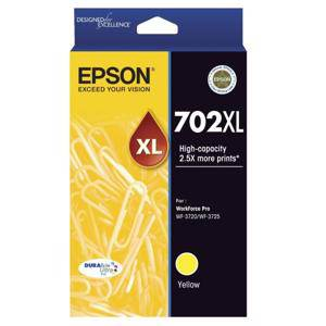 Epson 702XL Yellow Ink Cartridge (950 Pages)