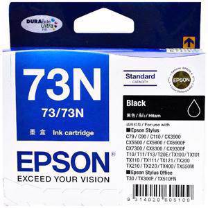 Epson 73N Black Ink Cartridge (245 Pages)