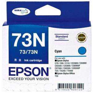 Epson 73N Cyan Ink Cartridge (245 Pages)
