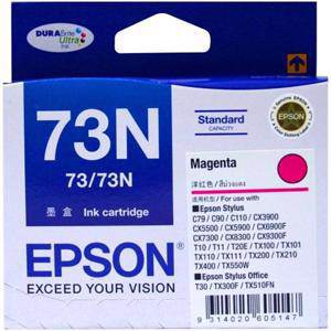 Epson 73N Magenta Ink Cartridge (245 Pages)