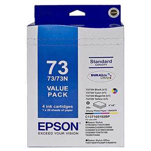 Epson 73N Value Pack (4 Pack)