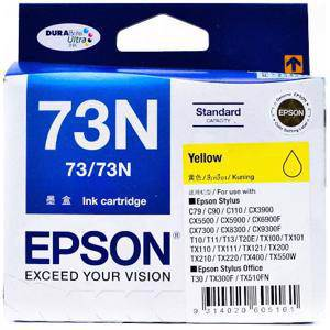 Epson 73N Yellow Ink Cartridge (245 Pages)