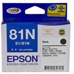Epson 81N Black Ink Cartridge (520 Pages)