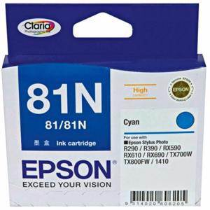 Epson 81N Light Cyan Ink Cartridge (805 Pages)