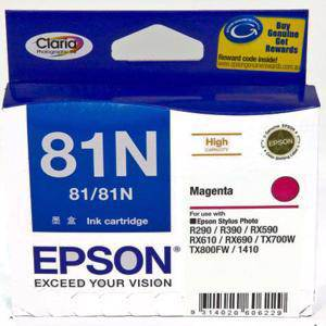 Epson 81N Light Magenta Ink Cartridge (805 Pages)