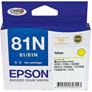 Epson 81N Yellow Ink Cartridge (805 Pages)