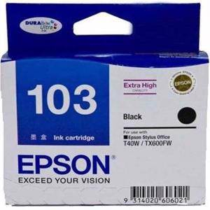 Epson T103 Black Ink Cartridge (1050 Pages)