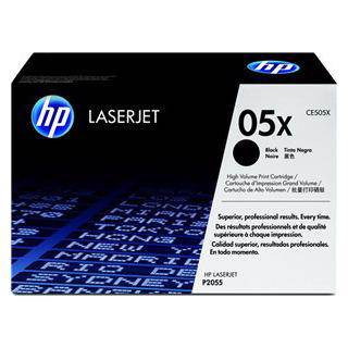 HP 05X Black Toner Cartridge (6500 Pages)