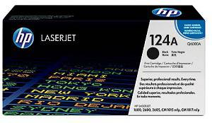 HP 124A Black Toner Cartridge (2500 Pages)