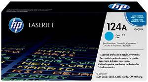 HP 124A Cyan Toner Cartridge (2000 Pages)