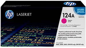 HP 124A Magenta Toner Cartridge (2000 Pages)