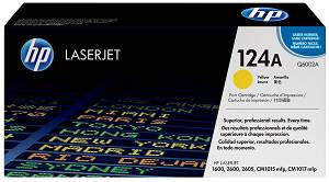 HP 124A Yellow Toner Cartridge (2000 Pages)