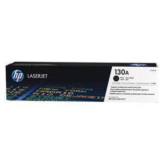 HP 130A Black Toner Cartridge (1300 Pages)