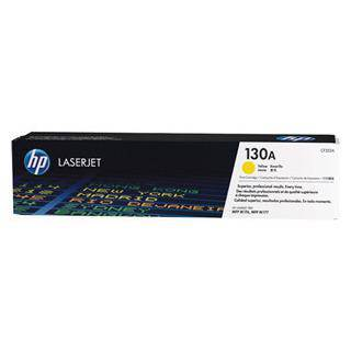 HP 130A Yellow Toner Cartridge (1000 Pages)