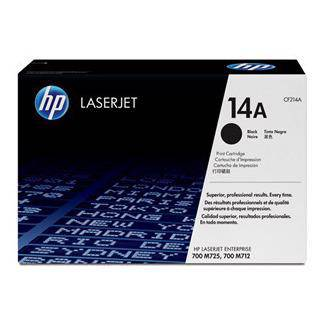HP 14A Black Toner Cartridge (10,000 Pages)